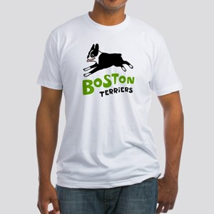 Boston Terriers Fitted T-Shirt
