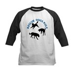 Rescue Dogs Rule Shadow Dogs Kids Baseball Jersey