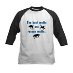 Best Mutts Are Rescues Kids Baseball Jersey