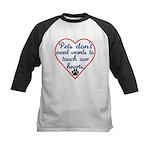 Touch Your Heart v4 Kids Baseball Jersey
