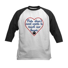 Touch Your Heart v4 Kids Baseball Jersey