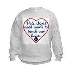 Touch Your Heart v4 Kids Sweatshirt