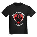Touch Your Heart (3) Kids Dark T-Shirt