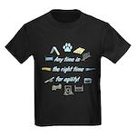 Agility Time Kids Dark T-Shirt