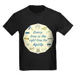 Agility Time v 2 Kids Dark T-Shirt