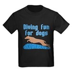 Diving Dog Kids Dark T-Shirt