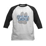 Therapy Dog Kids Baseball Jersey