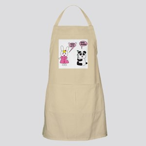 Panda Rabbi Engrish BBQ Apron