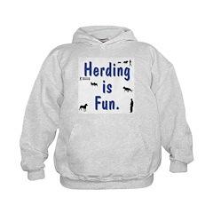Herding is Fun Hoodie