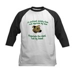 Civilized Society Against BSL Kids Baseball Jersey