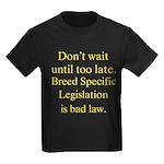 Bad Law Kids Dark T-Shirt