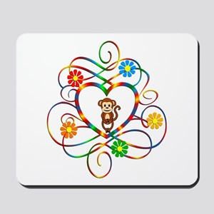 Monkey Lover Mousepad