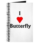 I Love Butterfly Journal