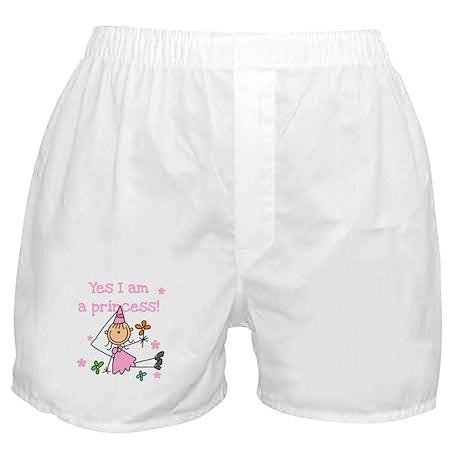 Yes I am a Princess Boxer Shorts