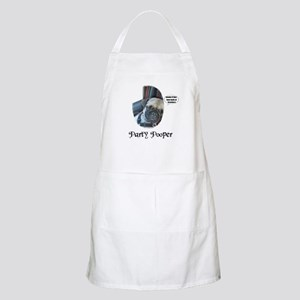 PARTY POOPER PUG BBQ Apron