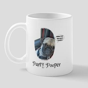 PARTY POOPER PUG Mug