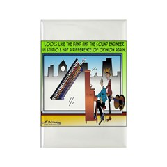 Musical Difference of Opinion Rectangle Magnet (10