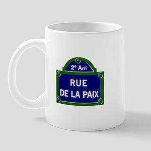 Rue de la Paix, Paris Mug