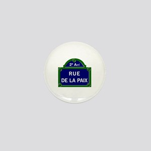 Rue de la Paix, Paris Mini Button