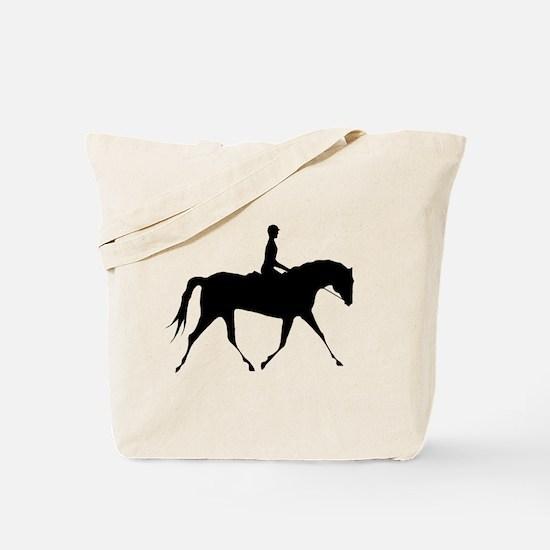 Horse & Rider Tote Bag