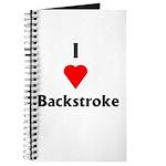 I Love Backstroke Journal