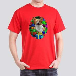 Corgi Christmas Gifts Dark T-Shirt