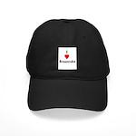 I Love Breaststroke Black Cap