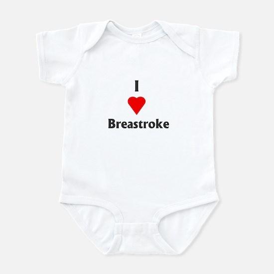 I Love Breaststroke Infant Creeper