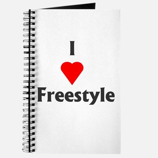 I Love Freestyle Journal