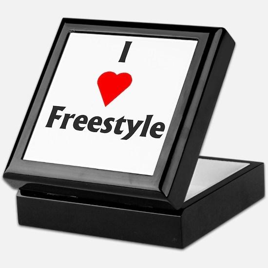 I Love Freestyle Keepsake Box