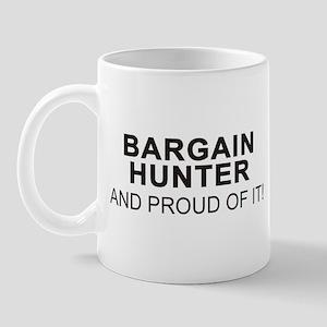 Proud Bargain Hunter Mug (right side)