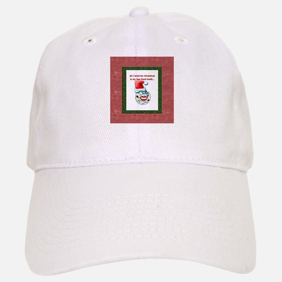 Dental Holidays Baseball Baseball Cap