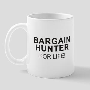 Bargain Hunter For Life Mug (right side)