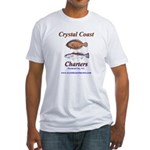 Crystal Coast Charters Fitted T-Shirt