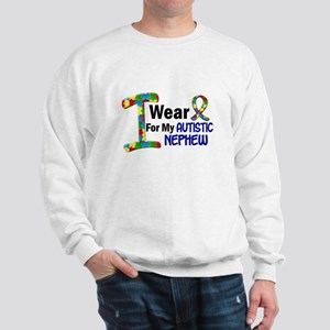 I Wear Puzzle Ribbon 21 (Nephew) Sweatshirt