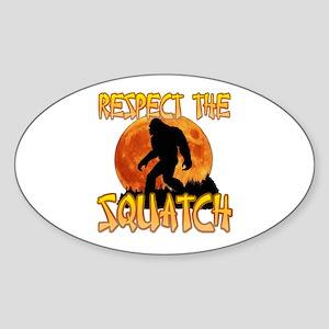 Respect the Squatch Sticker
