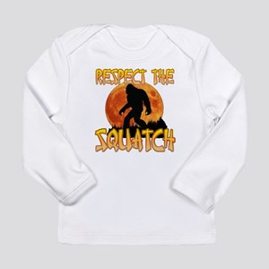 Respect the Squatch Long Sleeve T-Shirt