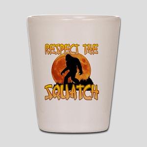 Respect the Squatch Shot Glass