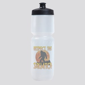 Respect the Squatch Sports Bottle