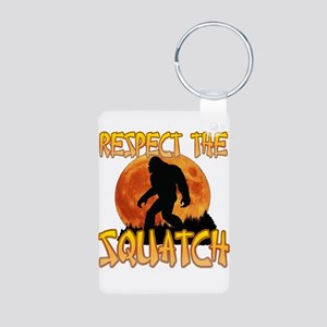 Respect the Squatch Keychains