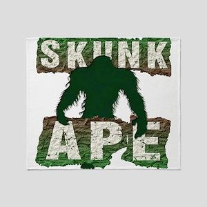 SKUNK APE Throw Blanket