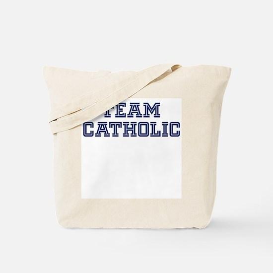 Team Catholic Tote Bag