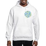 10 Mermaids Hooded Sweatshirt Printed 2-Sides