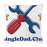 Color logo Woven Throw Pillow