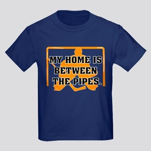 home between the pipes Kids Dark T-Shirt