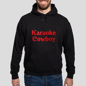 Karaoke Cowboy Hoodie (dark)