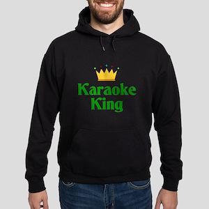 Karaoke King Hoodie (dark)