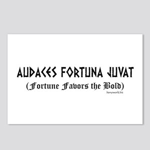 Audaces Fortuna Postcards (Package of 8)