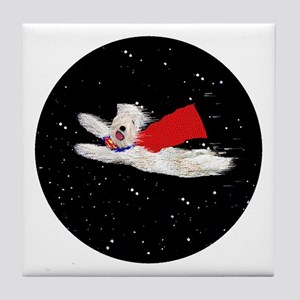 SUPERDOG Tile Coaster