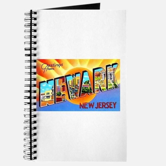 Newark New Jersey Greetings Journal